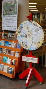 Summer Reading Game wheel