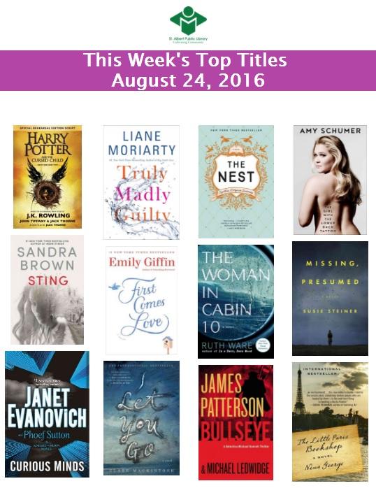 Bestsellers 08 24 2016