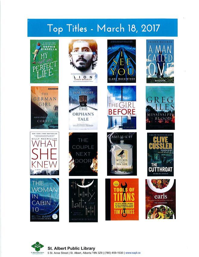 Bestsellers 03 18 2017