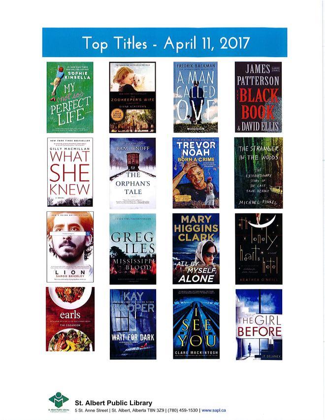 Bestsellers 04 11 2017