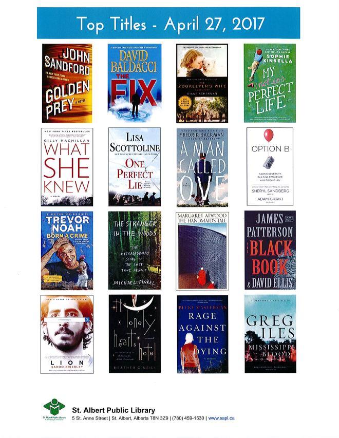 Bestsellers 04 27 2017