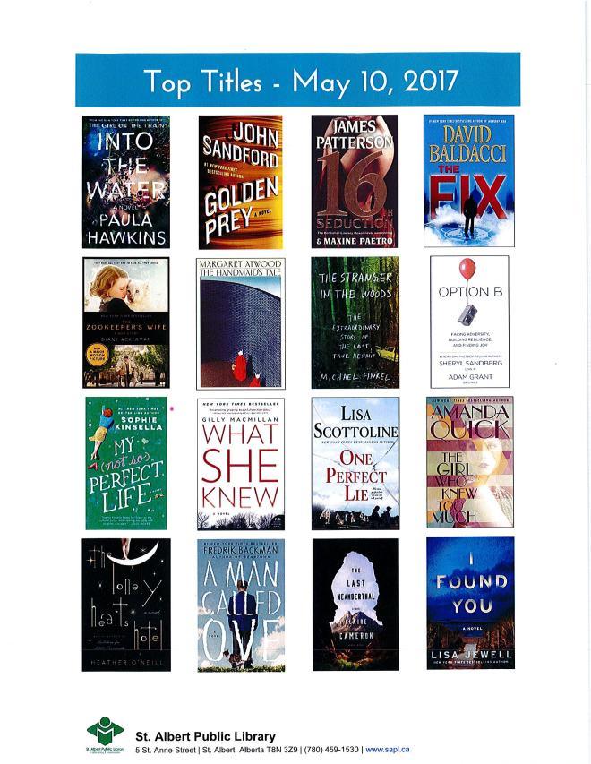 Bestsellers 05 10 2017