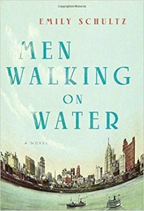 Men walking on water