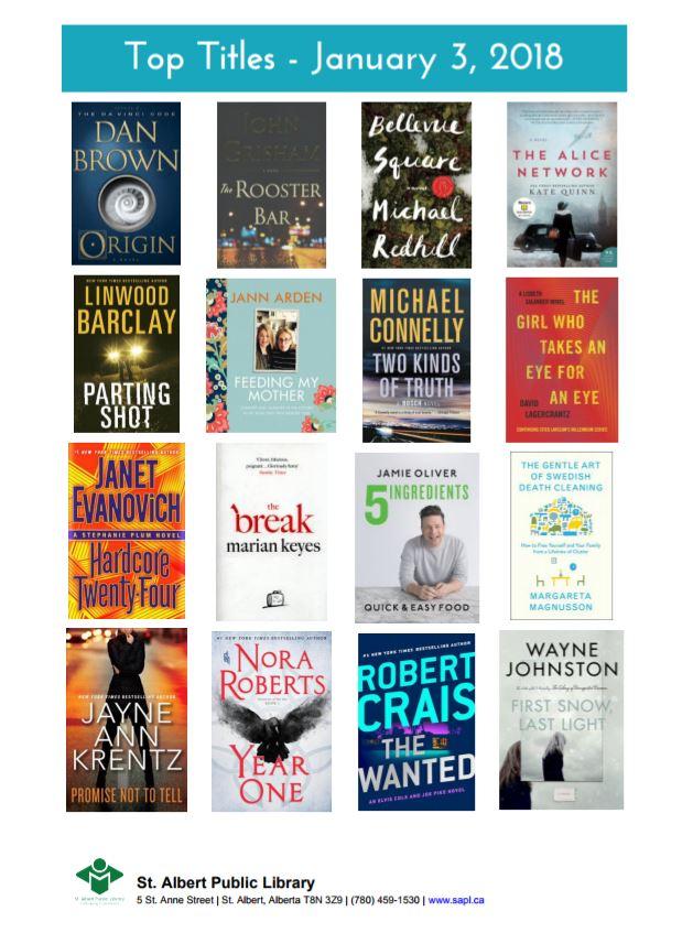 Bestsellers 2018.01.03