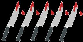 5 Daggers